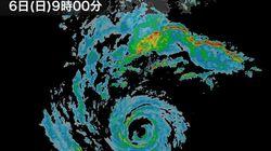 【台風10号】24時間の雨量が300~500mmに達する恐れ。九州や紀伊半島などで