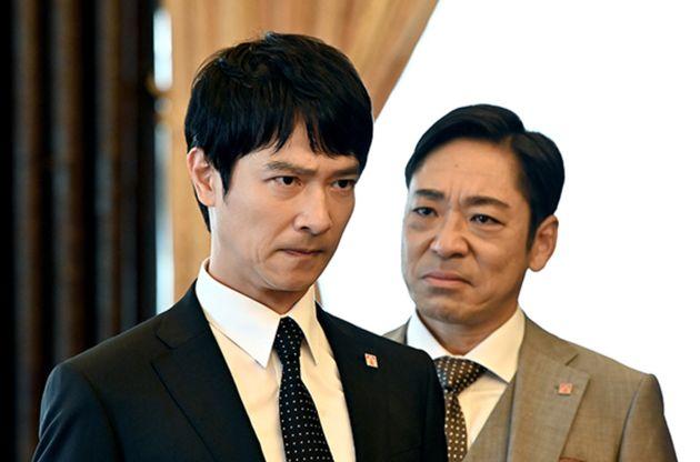 ドラマ『半沢直樹』の1シーン