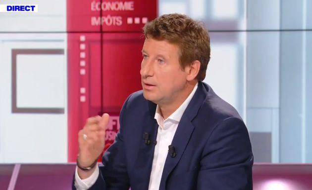 Yannick Jadot, ici sur le plateau de BFMTV ce 6 septembre, souhaite que la France puisse