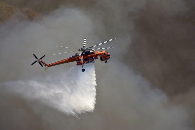 Πυρκαγιά στον Άγιο Κυπριανό