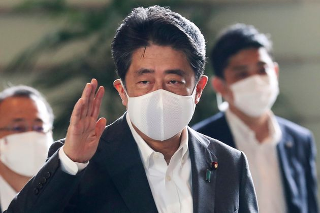 Japan's Prime Minister Shinzo Abe warned the typhoon could bring