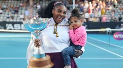 Serena Williams' Daughter Made Up For Otherwise Empty Stands At U.S.