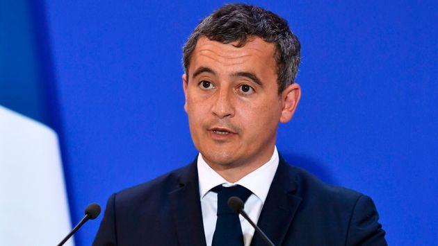 """Gérald Darmanin, ici le 31 août à Paris,va """"proposer de pénaliser""""..."""