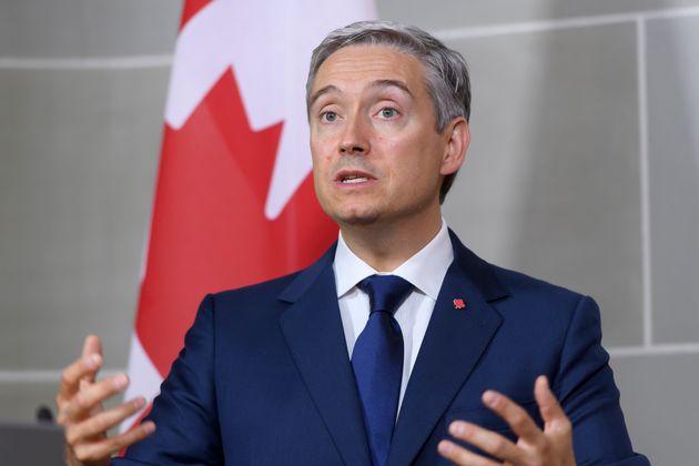 François-Philippe Champagne, ministredes Affaires étrangères du Canada (photo