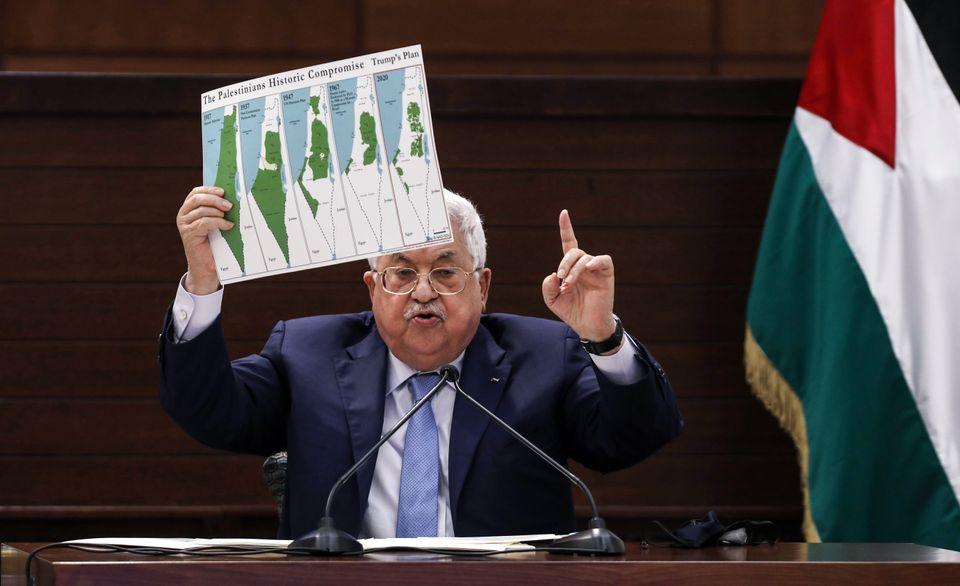 Ο Μαχμούτ Αμπάς στον ΟΗΕ...