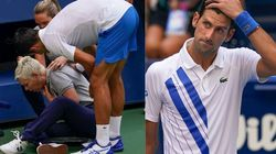 Novak Djokovic Out Of US Open After Hitting Line Judge With Tennis