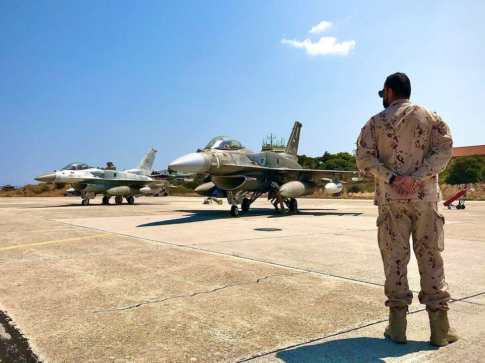 Μαχητικό των ΗΑΕ στη Σούδα...