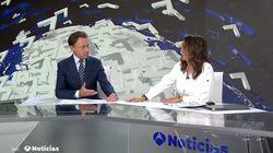Matías Prats interrumpe Antena 3 Noticias para mandarle un mensaje a Mónica