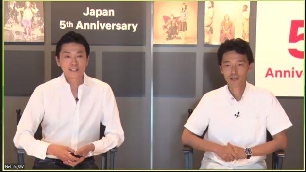 Netflix坂本和隆さん、佐藤信介監督