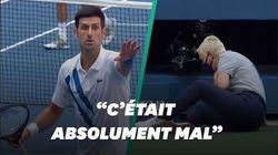 Djokovic disqualifié de l'US Open pour avoir envoyé une balle sur une