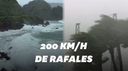 Le typhon Haishen arrive en Corée du Sud avec des rafales de près de
