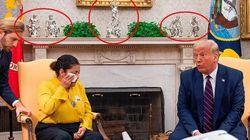 Trump prelevò tre opere d'arte dall'ambasciata parigina per portarle negli Usa. Ma sono dei