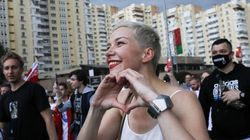 La líder opositora bielorrusa Kolésnikova, detenida por desconocidos en