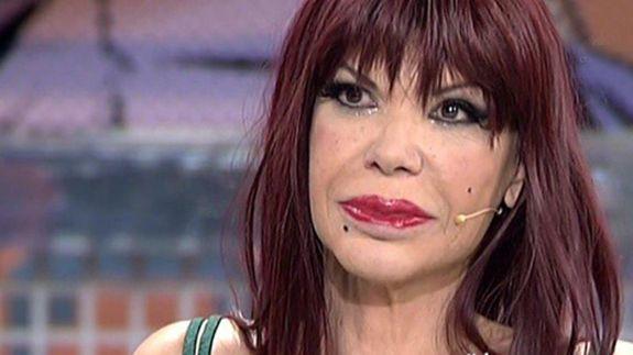 Cristina Ortiz 'La Veneno' en una de sus entrevistas en 'Sábado Deluxe'.