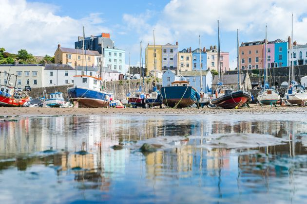 Tenby bay, Wales, has cheaper autumn accommodation