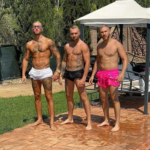 I Fratelli Bianchi in un'immagine del loro profilo