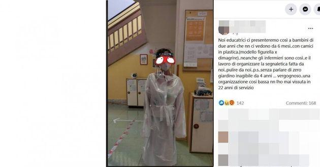 Il post di un'insegnante