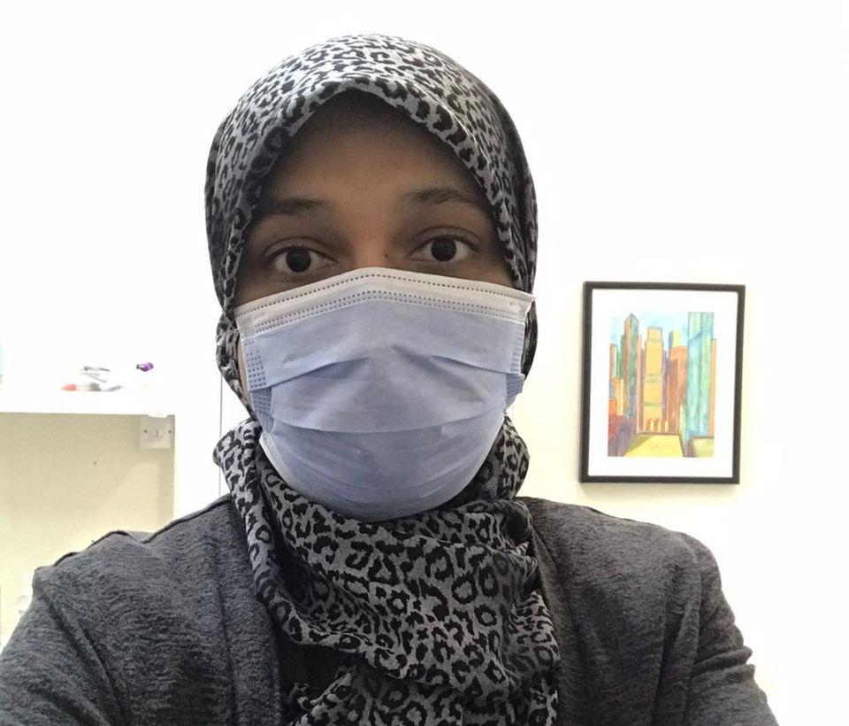 Sabeeta Farooqi, 36, a trainee GP in Leeds