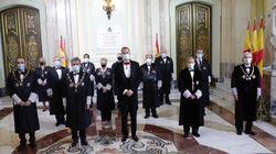 La foto de apertura del año judicial cuenta con mujeres por primera vez en ocho