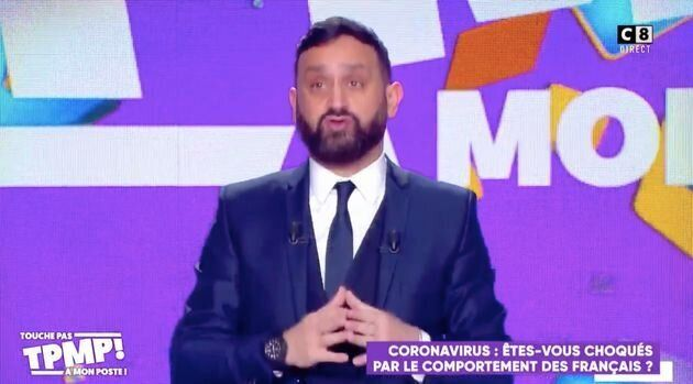 Cyril Hanouna, à la présentation de