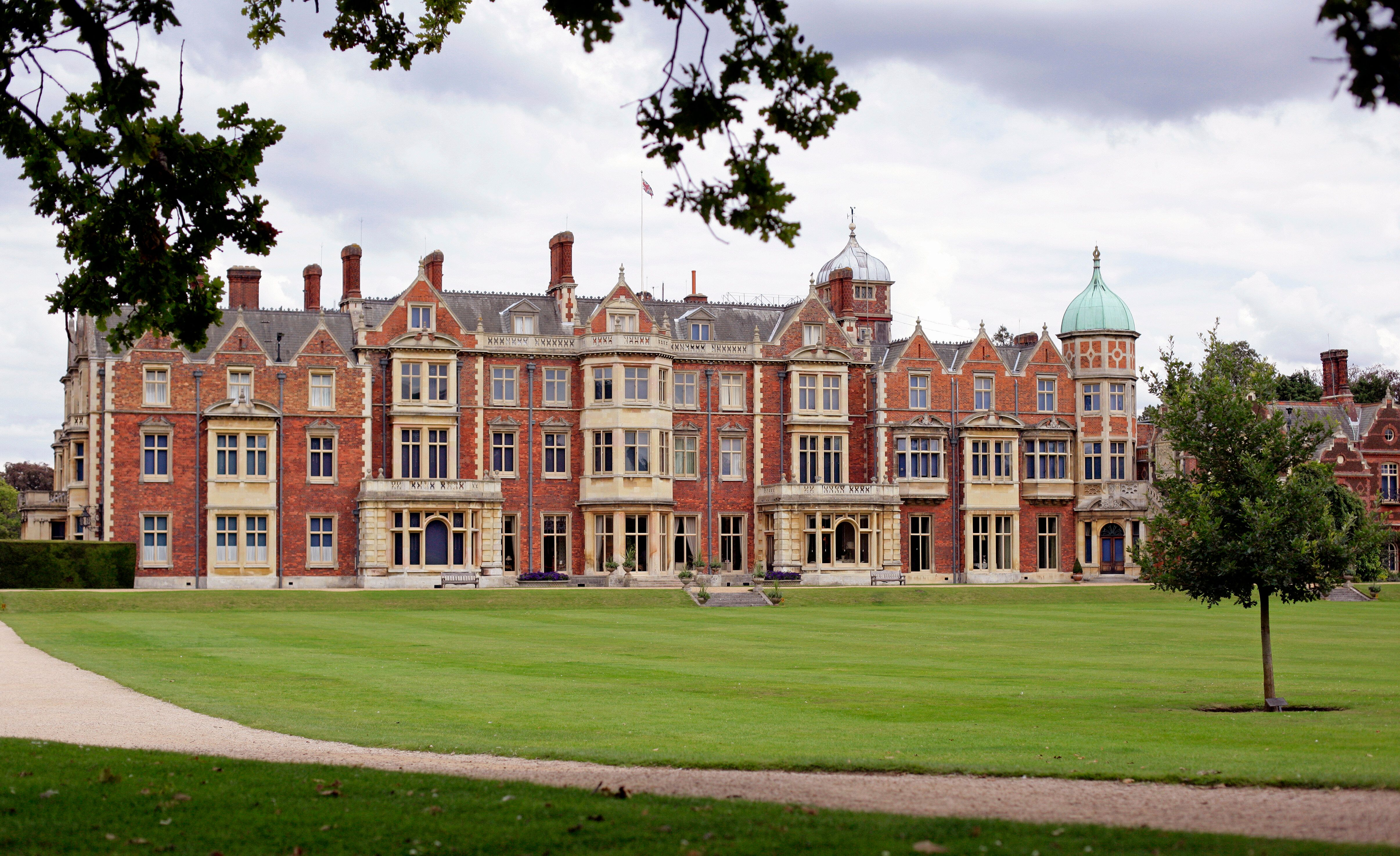 General view of Sandringham House, Queen Elizabeth II's country retreat, at Sandringham on August 30, 2011, in King's Lynn, England.