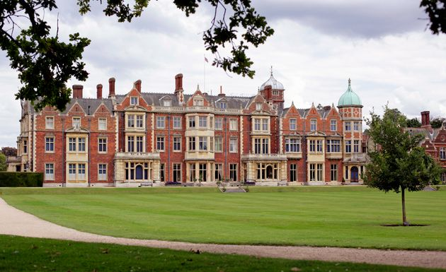 General view of Sandringham House, Queen Elizabeth II's country retreat, at Sandringham on August 30,...