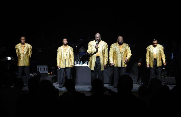 The Temptations in 2014