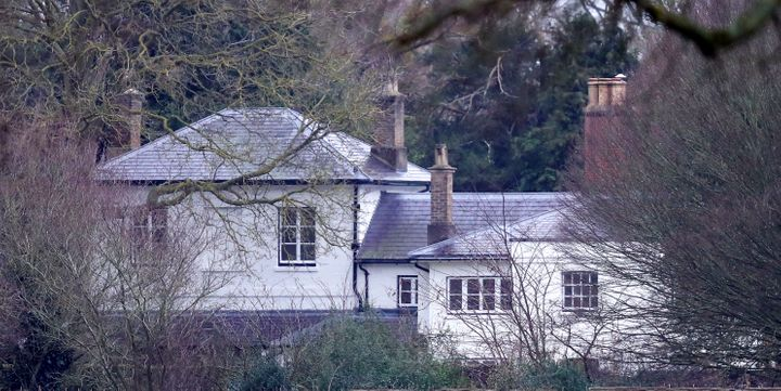 A general view of Frogmore Cottage at Frogmore Cottage in Windsor, England.