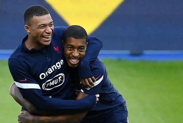 Ce lundi 7 septembre, Kylian Mbappé s'est entraîné avec l'équipe de France...