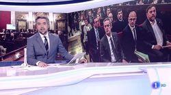El 'Telediario' de TVE hace lo nunca visto este lunes por la noche y le sale