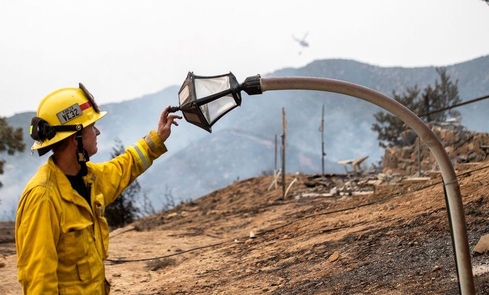 80 φορές η έκταση του Παρισιού, η περιοχή που κάηκε στην Καλιφόρνια - Απόκοσμες