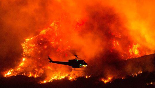 80 φορές την έκταση του Παρισιού η περιοχή που κάηκε στην Καλιφόρνια - Απόκοσμες