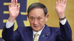 """菅義偉氏「普通の人間でも、努力をすれば総理大臣を...」。""""たたき上げ""""の生い立ち、所見演説でまたもアピール"""