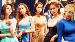 SM엔터테인먼트와 재계약한 소녀시대 멤버