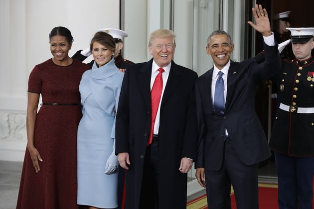 Enero de 2017: los Obama dejan paso a los Trump en la Casa