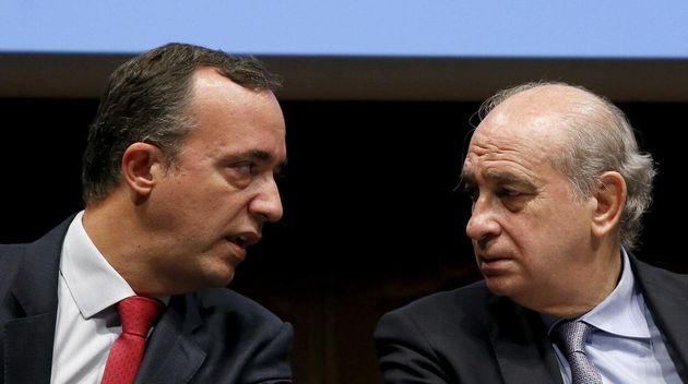 Francisco Martínez y Jorge Fernández Díaz, en una imagen de