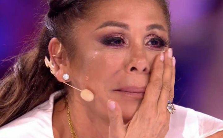 Isabel Pantoja se emociona en 'Idol Kids' con el recuerdo de Paquirri.
