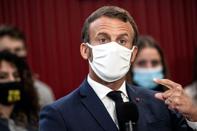 Emmanuel Macron, ici à Clermont-Ferrand le 8 septembre