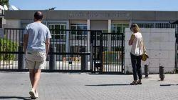 Un aula de Primaria del Liceo Francés de Madrid, confinada por el positivo de uno de sus