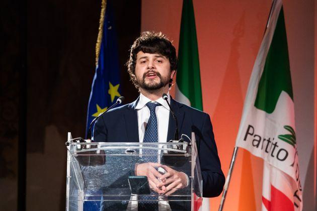10/01/20 Milano, PPrima giornata dell'evento Nord Face, organizzato dal PD ai Chiostri di San Barnaba;...