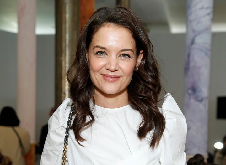 Katie Holmes was seen packing on the PDA with chef Emilio Vitolo Jr.