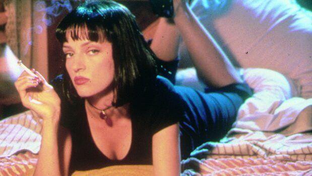 Mia (Uma Thurman), en 'Pulp Fiction'.