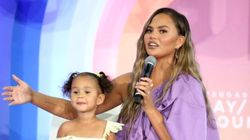 Chrissy Teigen's Daughter Playing Doctor With Her Is So Next