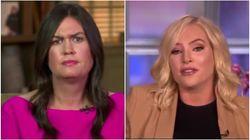 Meghan McCain Swats Down Sarah Huckabee Sanders' Claims Trump Loves