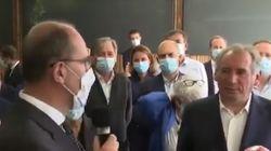 Pointé du doigt pour son absence de masque, Bayrou reconnaît avoir eu