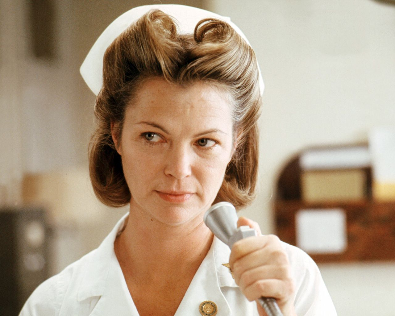 """Louise Fletcher in """"One Flew Over the Cuckoo's Nest."""""""