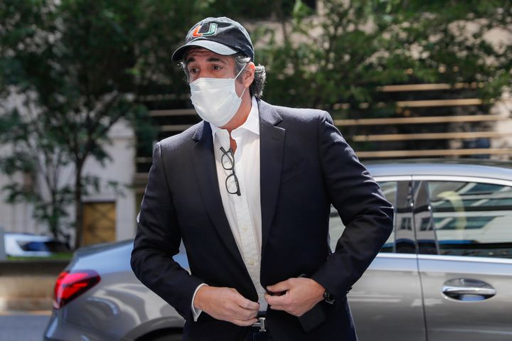 """Michael Cohen, shown here in May, is making the rounds promoting his new book, """"Disloyal: A Memoir: The True Story of t"""
