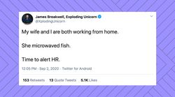 23 Too-Real Tweets About Working From Home With Your Significant