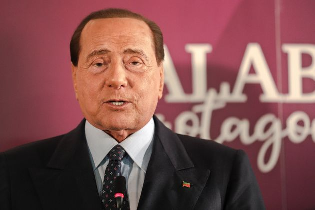 El expresidente Silvio Berlusconi, el 23 de enero de 2020 en un acto político (Andrea Pirri/NurPhoto...