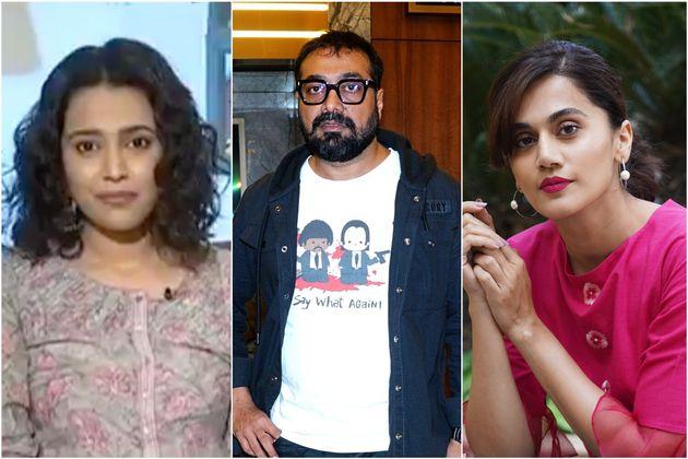 Swara Bhaskar, Anurag Kashyap, Taapsee